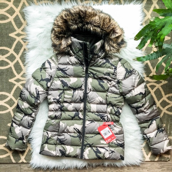 The North Face Womens Gotham Jacket II down camo S 3b4820af5